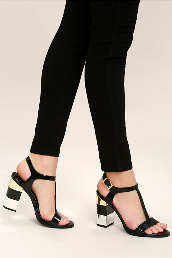 2047d8d70cad24 Report Laurel Black Suede Gladiator Sandals  71300-8709799  -  59.00 ...